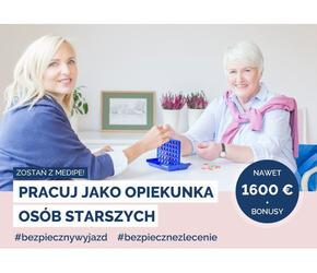 Praca dla opiekunki osób starszych Niemcy